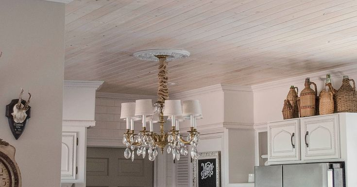 The Easy and Affordable Way to Cover a Popcorn Ceiling http://www.popsugar.com/home/How-Get-Rid-Popcorn-Ceiling-37461128