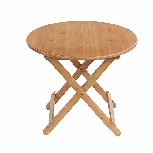 b820e52b582d TY BEI Wooden Round Folding - Dining Table - Children's Camping ...