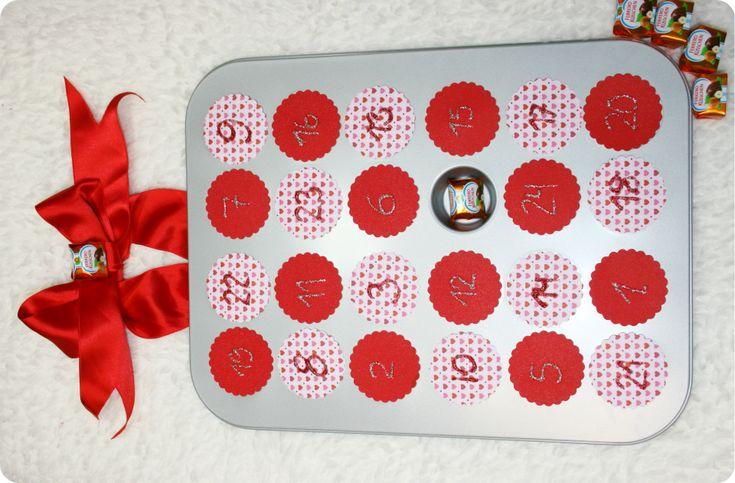 Weihnachtbräuche neu erleben, basteln mit Ferrero Küsschen
