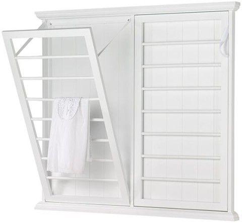 Madison Fold-Down Wall-Mounted Laundry Drying Rack
