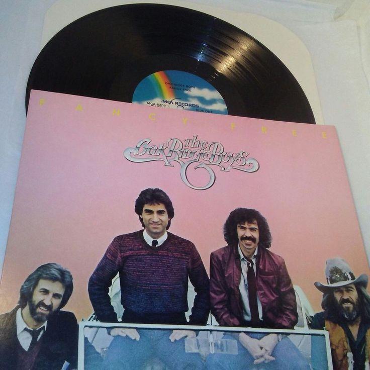 The Oak Ridge Boys  Fancy Free  Vinyl LP MCA 5209 Ex US 1981 Folk World Country #Folk