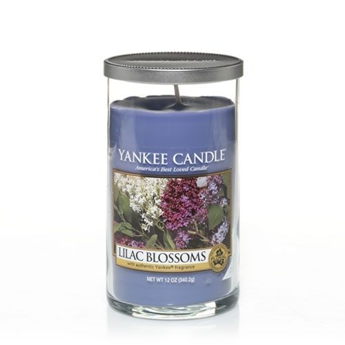 Lilac Blossoms : Medium Perfect Pillar™ Candles : Yankee Candle