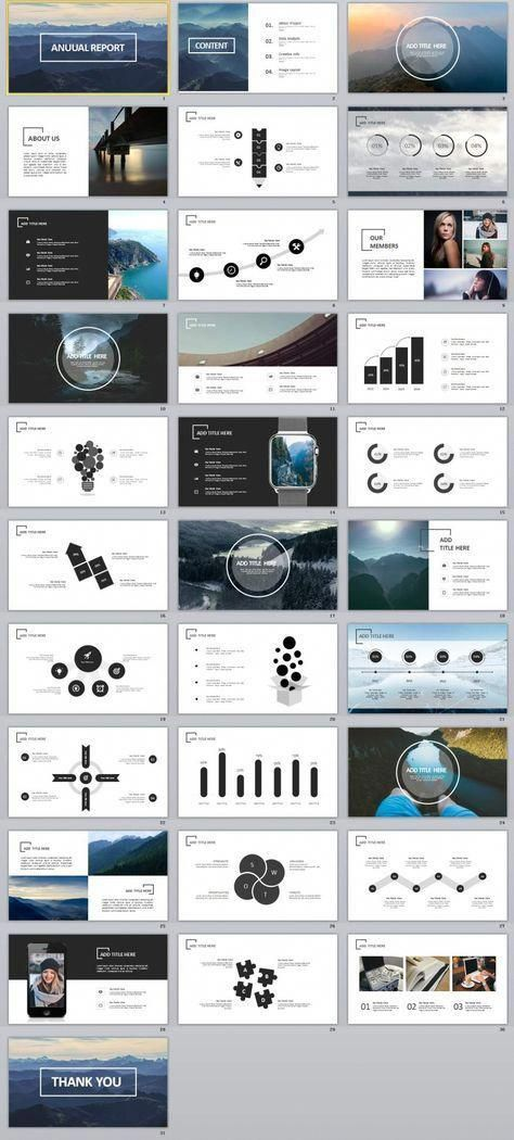 31 creative annual swot report powerpoint template infographics