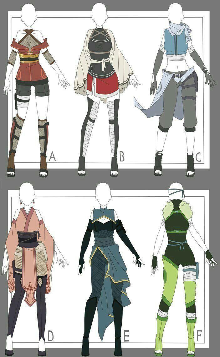 Like E Plz Anime Outfits Fantasy Clothing Art Clothes