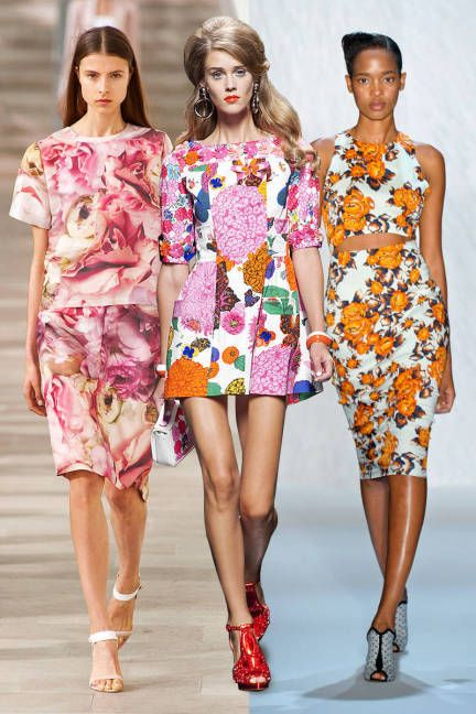 Get ready to don your spring florals #trends #fashion