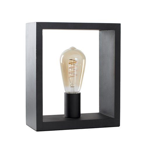 Anver Square 25cm Table Lamp Minisun Bulb Type Led Helix Filament Square Table Lamp Touch Table Lamps Table Lamp