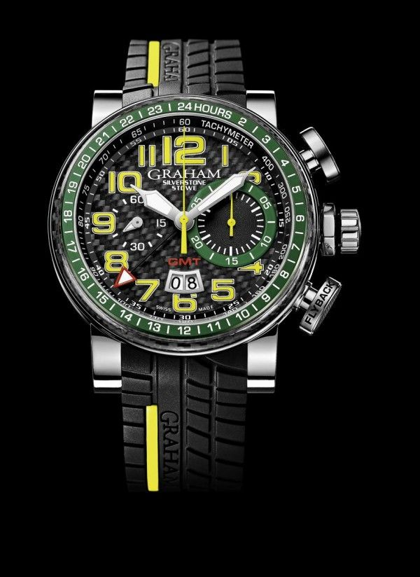 Graham Silverstone Stowe GMT Flyback Chronograph