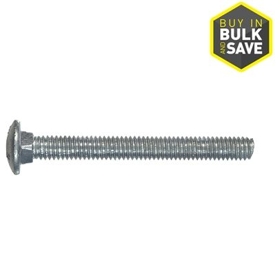 The Hillman Group 5/16-in-18 x 6-in Hot-Dipped Galvanized Round-Head Standard (SAE) Carriage Bolt