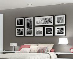 Comment accrocher vos photos murales à la bonne hauteur