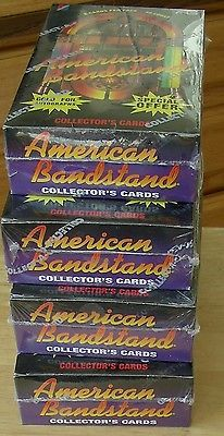American Bandstand Trading Cards Box Factory Sealed DICK CLARK 3 Boxes