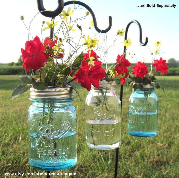 DIY Hanging Vases 12 Ball Mason Jar