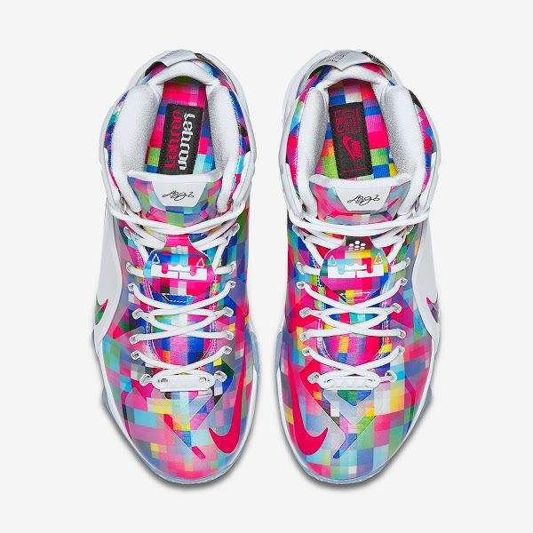 LeBron 12 EXT Fruity Pebbles Official Look amp Release Info