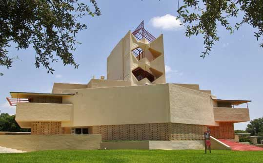 Love Florida Southern College!  It has the largest collection of Frank Lloyd Wright's architecture for a single client in the world.  Annie Pfeiffer Chapel is one of my favorite buildings on campus.  The third generation of my family to go to Florida Southern will soon be graduating.