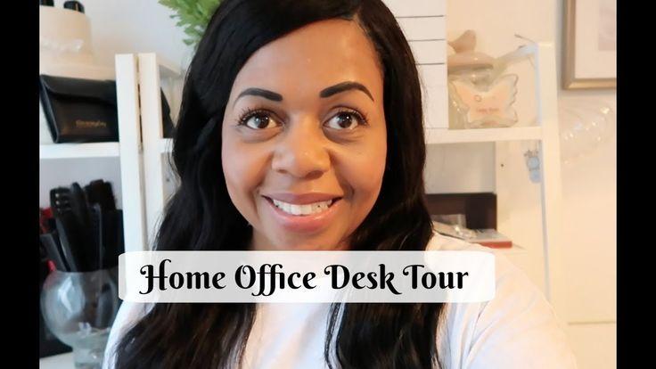 Home Office Desk Tour