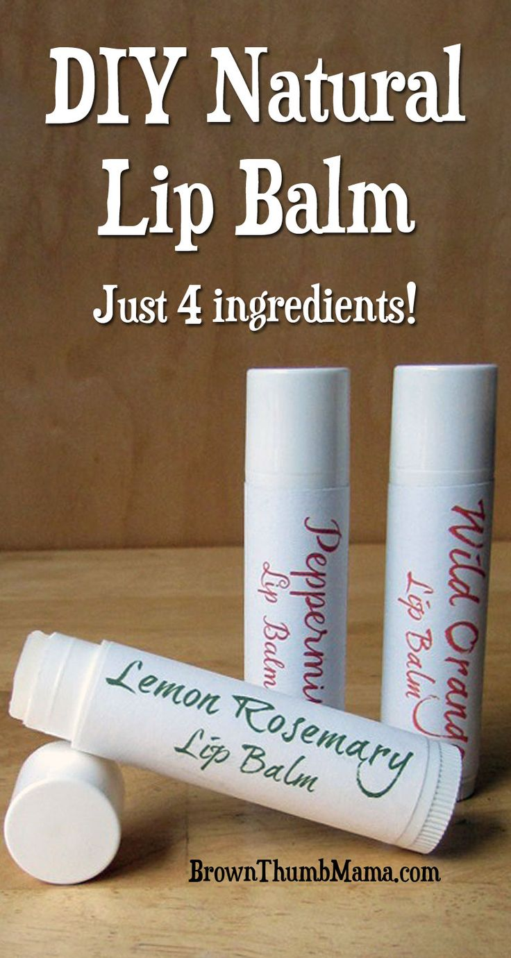 This rich, nourishing lip balm uses four natural ingredients and takes just minutes to make. Add essential oils and create your own flavors!