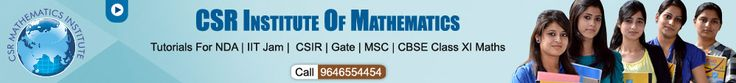 GATE MATHS Coaching/preparation/centre/Institute in Chandigarh 9646554454.CSR Institute of Mathematics Is Exclusively Dedicated to GATE/NET Coaching in Chandigarh. CSR