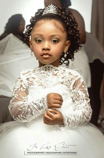 Black Little Girl Wedding Hairstyles