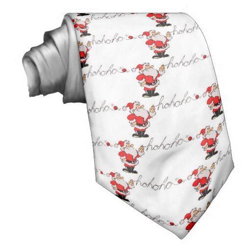 #Zazzle - Funny Santa Neck Tie by elenaind (Elena Indolfi)