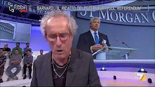 Paolo Barnard: 'Il ricatto dei poteri forti sul referendum' - YouTube