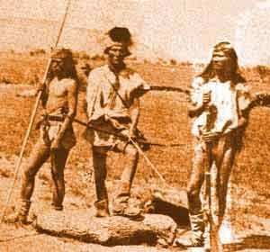 Apache hunting party
