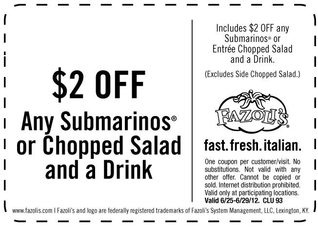 Deals a coupons for food and travel