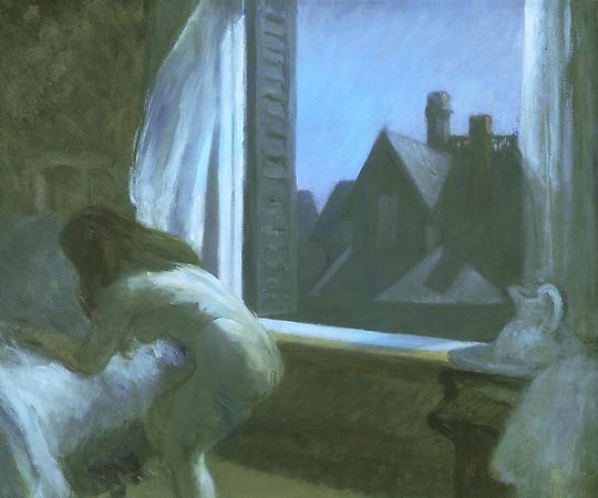 Moonlight Interior, 1921-1923, Edward Hopper.