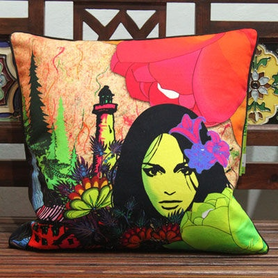 Try saying no to this cushion cover..