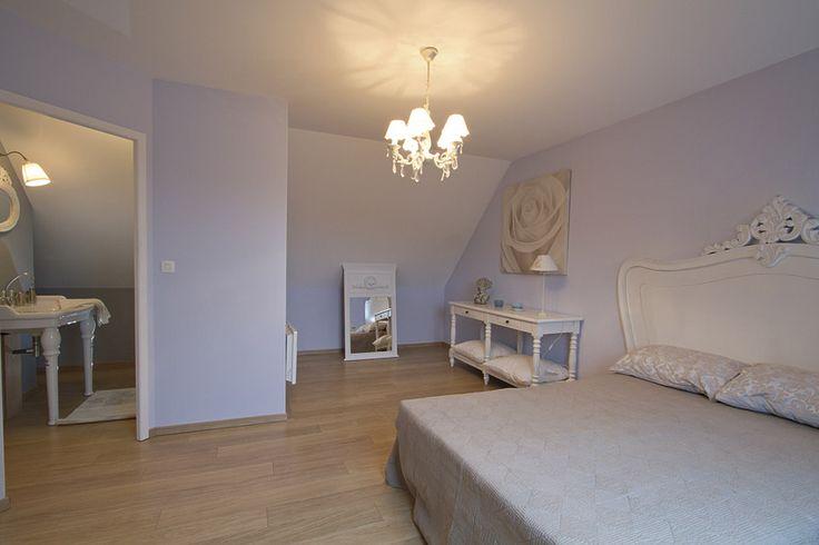 Espace parental avec salle de bains avec douche - 1er étage - maison témoin Maisons d'en France à Vermelles