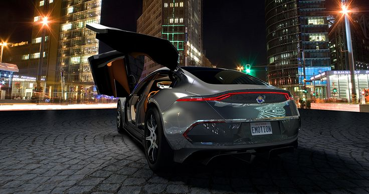 The Fisker EMotion. Image Credit: Fisker Inc.