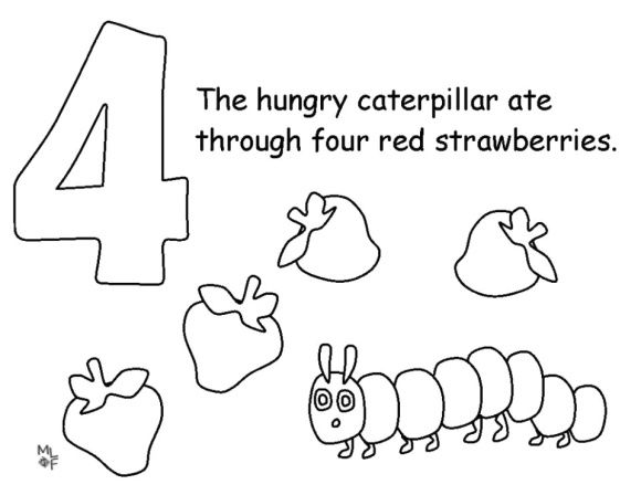 - Very Hungry Caterpillar Coloring Page Hungry Caterpillar, The Very Hungry  Caterpillar Activities, Hungry Caterpillar Activities