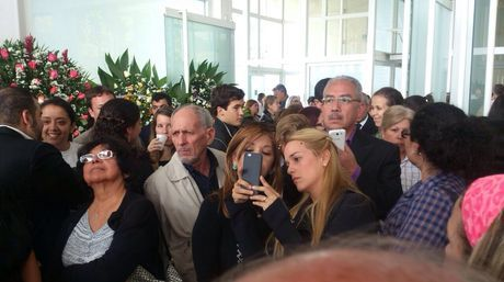 """Lilian Tintori y María Corina Machado despidieron a """"El Aviador"""""""