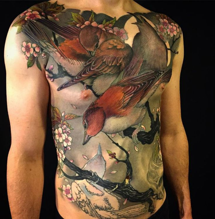 "thievinggenius: "" Tattoo done by Jeff Gogue. """