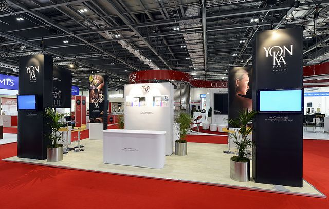 Portable Exhibition Stand Design for Yonka International. Get a free design http://www.expodisplayservice.ae/FreeDesign.aspx