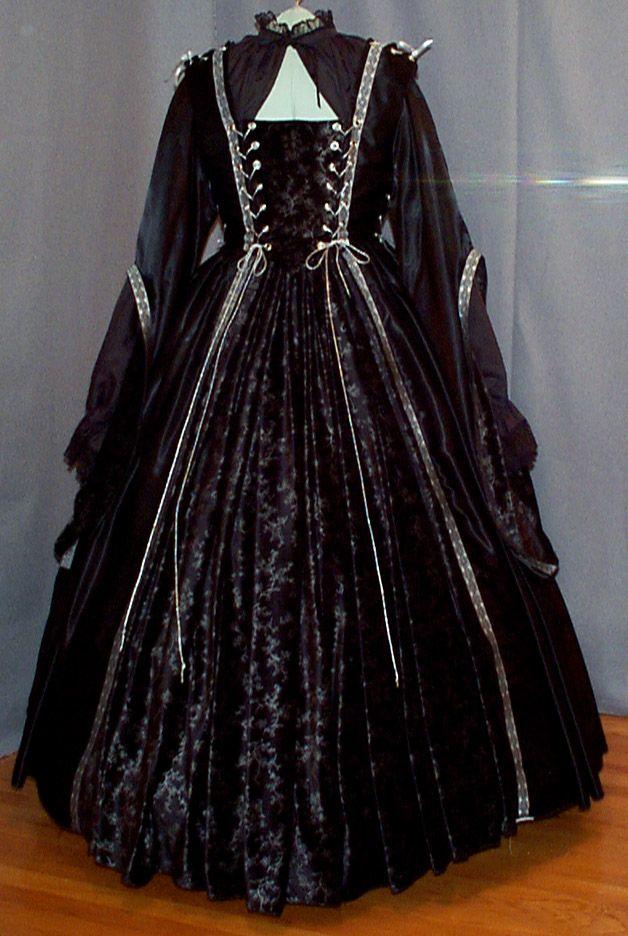 Renaissance period gown.