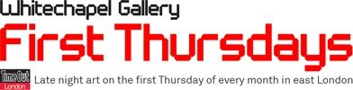 1st Thurdays - every month galleries in East London open at night/ Toda primeira quinta do mês as galerias de East London abrem suas portas a noite para visitação.