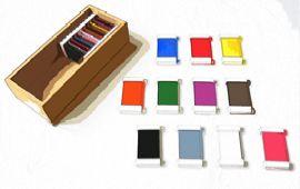 Présentation Montessori La boîte de couleurs n°2