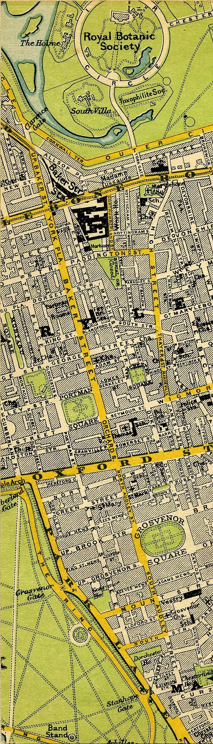 Stanfordu0027s Map Of Central London 1897 219