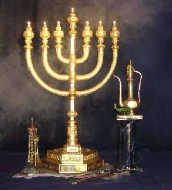The Seven Spirits Of God The Flame Of The Menorah