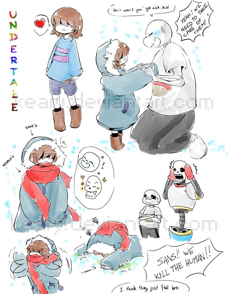 Yet Another Idea I Had In Mind Of Doodling Of Sans Weird