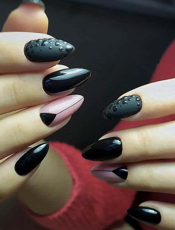 Fresh Black And Pink Nail Art Designs For Bold Women In 2020 In 2020 Pink Nail Art Designs Pink Nails Pink Nail Art