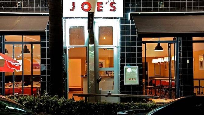 Joe's Bar & Dining Hall... outside - welcome!