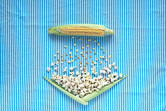Corn cob to popcorn. Table top. by kawizen  on @creativemarket #corncob #corn #sweetcorn #popcorn #pop #heat #process #processing #yellow #blue #field #symbol #symbolic #healthy #salt #crop #agriculture #farm #vegetarian #grain #vegetable #harvest #snack #cultivation #grown #veggie #healthyfood #poppingcorn #corngrain #tabletop #tabletopview #topview