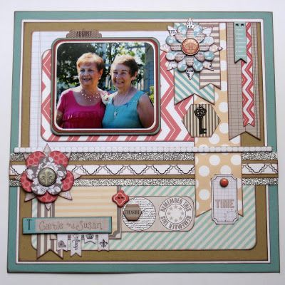 authentic balenciaga handbags  scrapbook  layout  papercrafting Teresa Collins