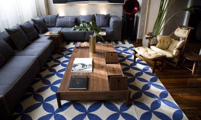 Estampas e sobreposições de tapetes surgem como tendência para o décor - Jornal O Globo