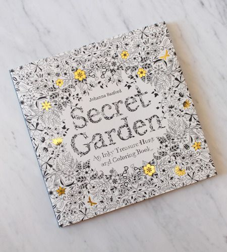 Secret Garden Coloring Book Secret Gardens And Coloring Books On Pinterest