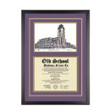Southwestern Law School California Diploma Frame with Lithograph Art PrintBy Old School Diploma Frame Co.