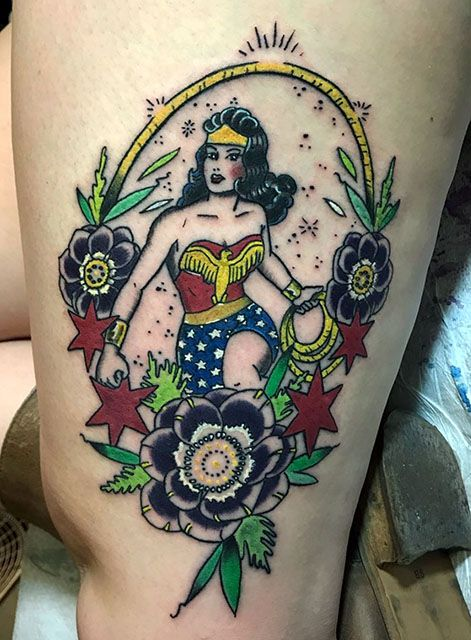 Best 25 Wonder Woman Tattoos Ideas On Pinterest Wonder