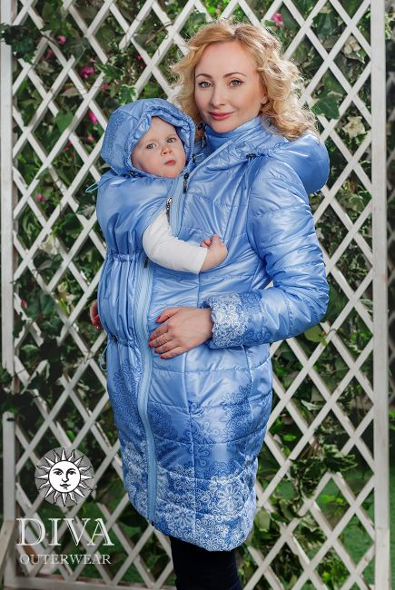 Babywearing Coat 3 in 1: babywearing and maternity winter coat