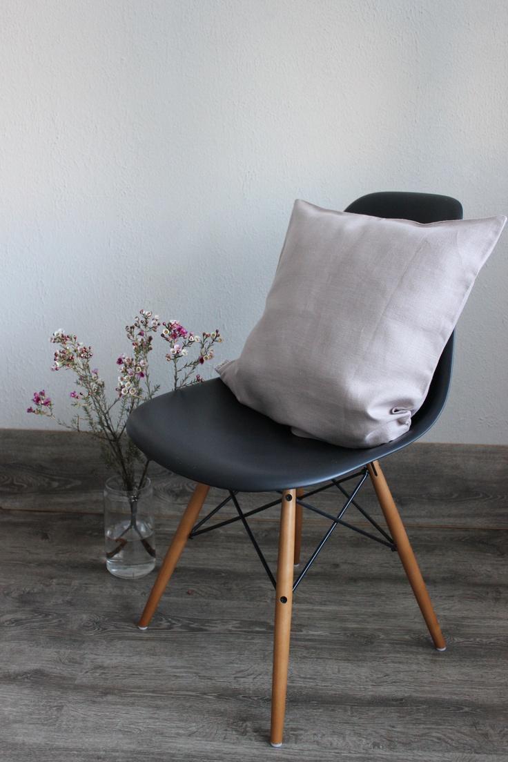 Toffee Linen Pillow Case
