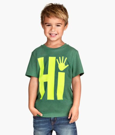 Short Sleeved Graphic T | H&M US 6-8
